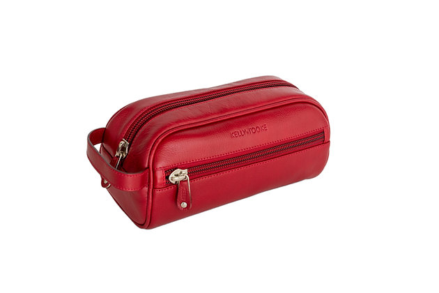 TOILETRY BAG (RED)