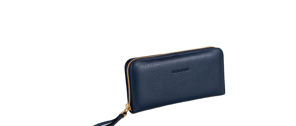 WALLET - LARGE (NAVY)