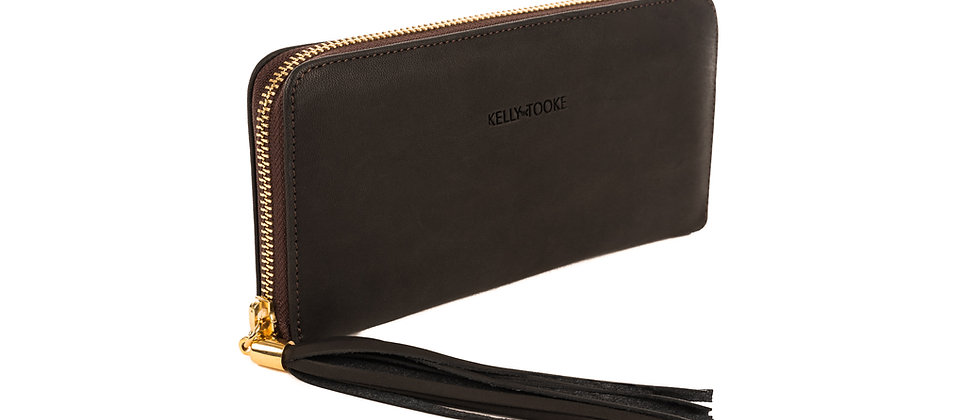 WALLET - LARGE (CHOCOLATE)