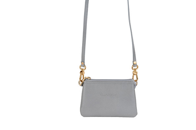 LILLIAN MINI CROSSBODY (GRAY)