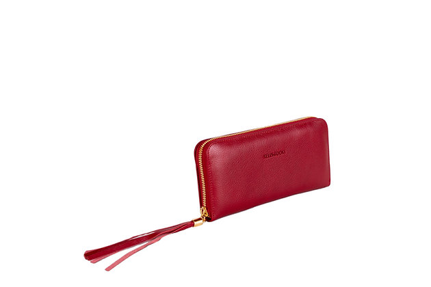 WALLET - LARGE (RED)