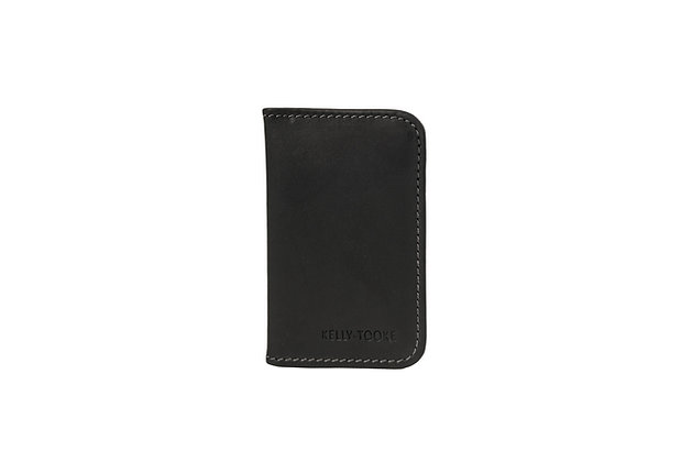 DOUBLE CARD HOLDER (BLACK)