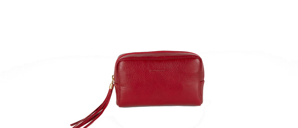COSMETIC BAG (RED)