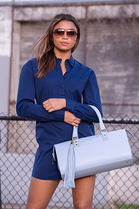 SOHO SATCHEL (SKY BLUE)