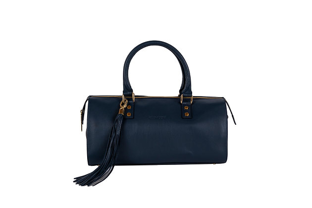 SOHO SATCHEL (NAVY)