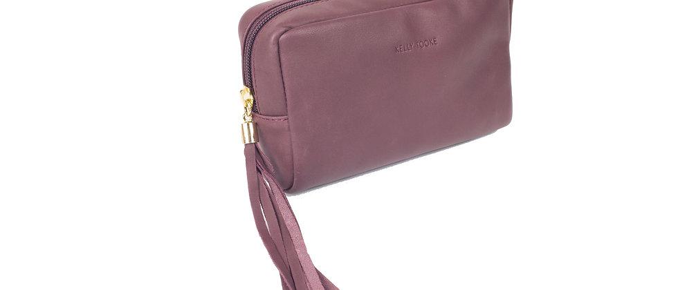 COSMETIC BAG (BURGUNDY)