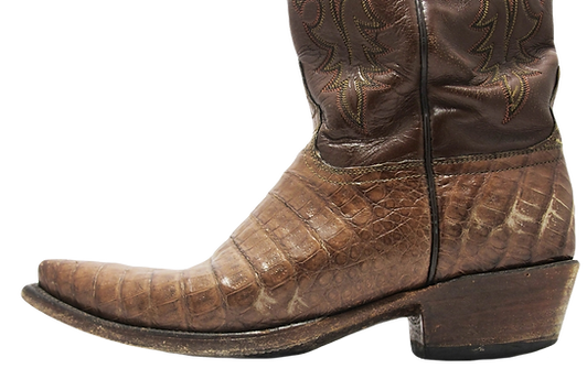 western-boot-repair-alligator-skin-boots