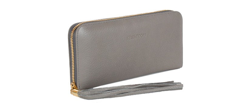 WALLET - LARGE (GRAY)