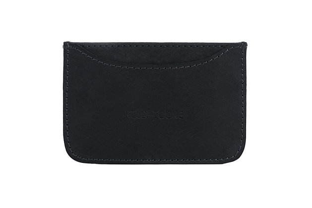 SINGLE CARD HOLDER (BLACK)