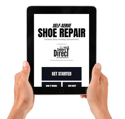 shoe repair ipad