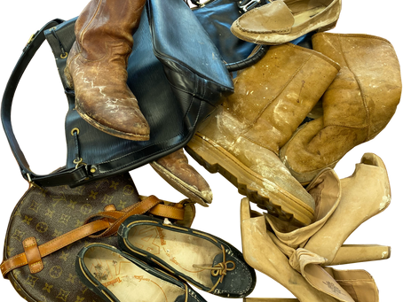 Water Damage Restoration for Shoes, Boots, and Handbags