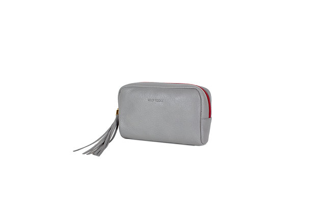 COSMETIC BAG (GRAY)