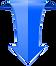 blue-down-arrow-web-3d-icon-vector-14343