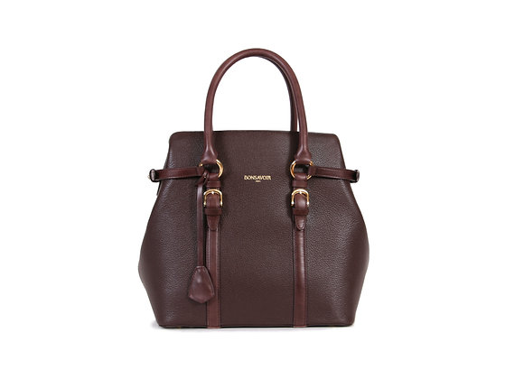 Sac à main Nuno Bonsavoir Paris - Cuir Marron - Créateur de Luxe - Made in France