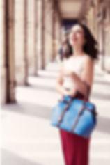 La Parisienne selon Bonsavoir Paris, marque de maroquinerie de Luxe Made in France