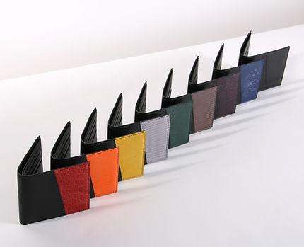 Portefeuilles Homme Bonsavoir Paris - Luxe Made in France - 9 couleurs et cuirs originaux