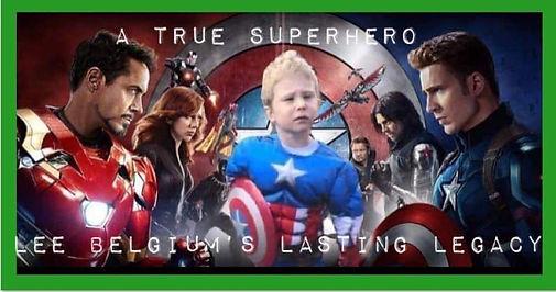A true superhero, Lee Belgium