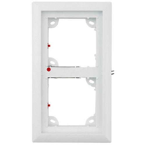 2er Rahmen, weiß