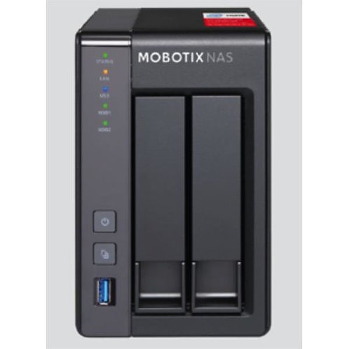 MOBOTIX NAS 2-Bay/8 Channels (NAS-251G)