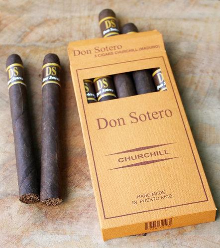Don Sotero 5 Cigarros Churchill