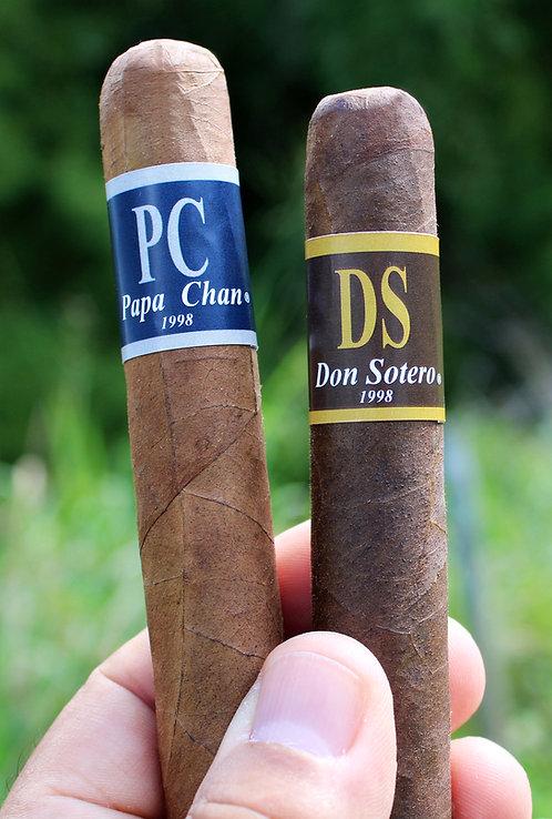Papa Chan & Don Sotero 2 Cigarros Robusto