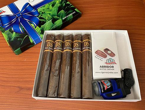Caja Regalo Azul / Blue Gift Box