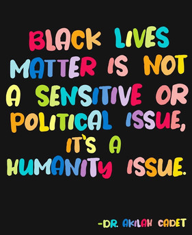 La vie des Noirs compte!