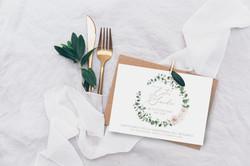 invito nozze eucalipto