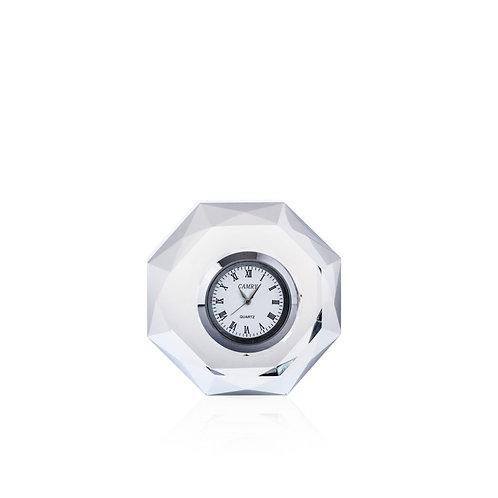 Orologio ottagonale in cristallo Emò Italia