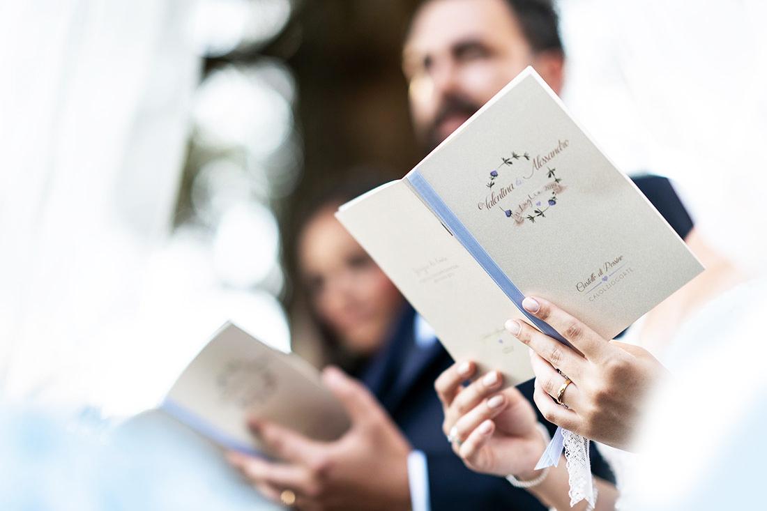 libretto cerimonia messa