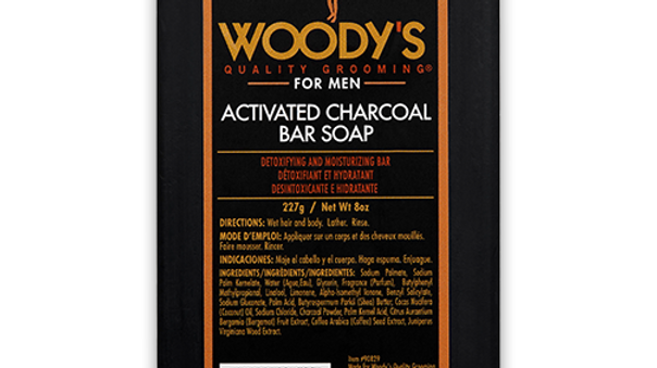 WOODY'S ACTIVATED CHARCOAL SOAP