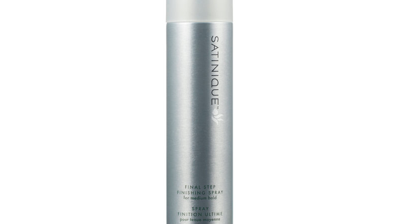 SATINIQUE FINAL STEP FINISHING SPRAY