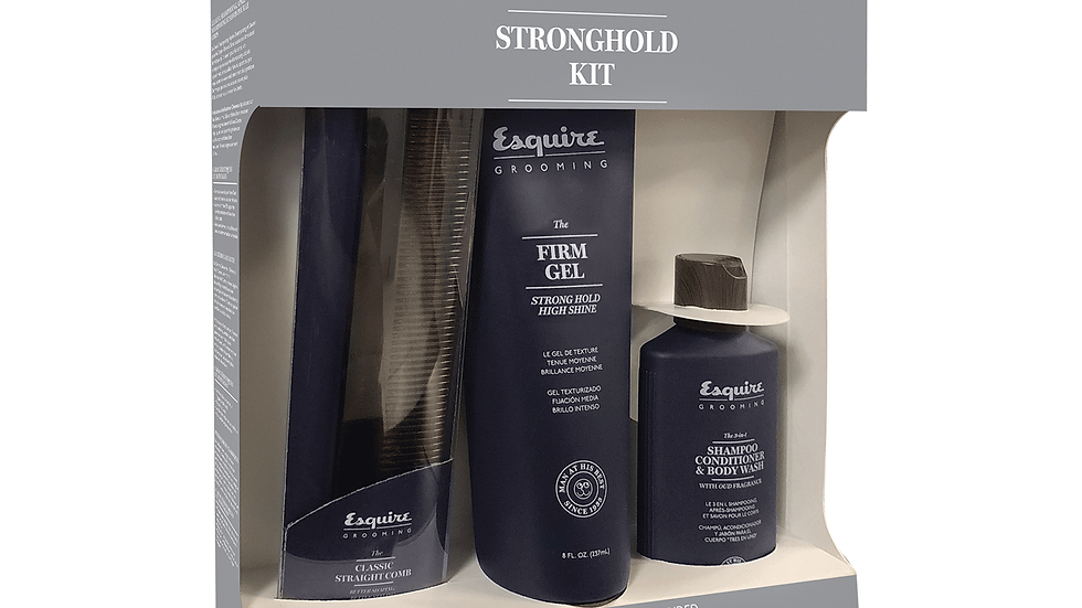 Esquire Grooming Strong Hold Styling Kit