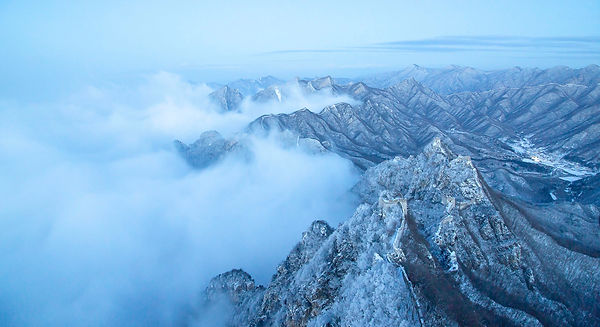Snow Over Great Wall 1, Dong Dai