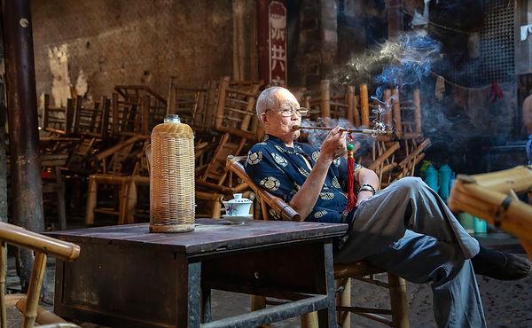 old tea house 1, Dong Dai