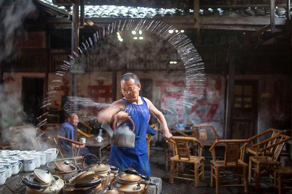 old tea house 3, Dong Dai
