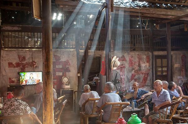 old tea house 6, Dong Dai