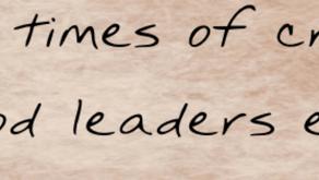 Leadership during Coronavirus