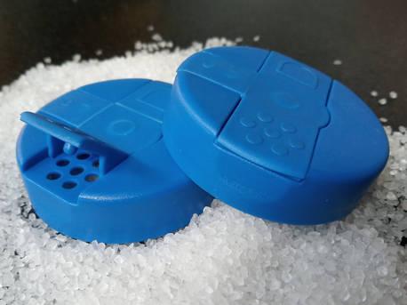 Πώματα για πλαστικές φιάλες για χρήση αλατιέρας