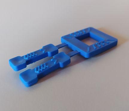 Πλαστική αγκράφα - συνδετήρας για τσέρκι
