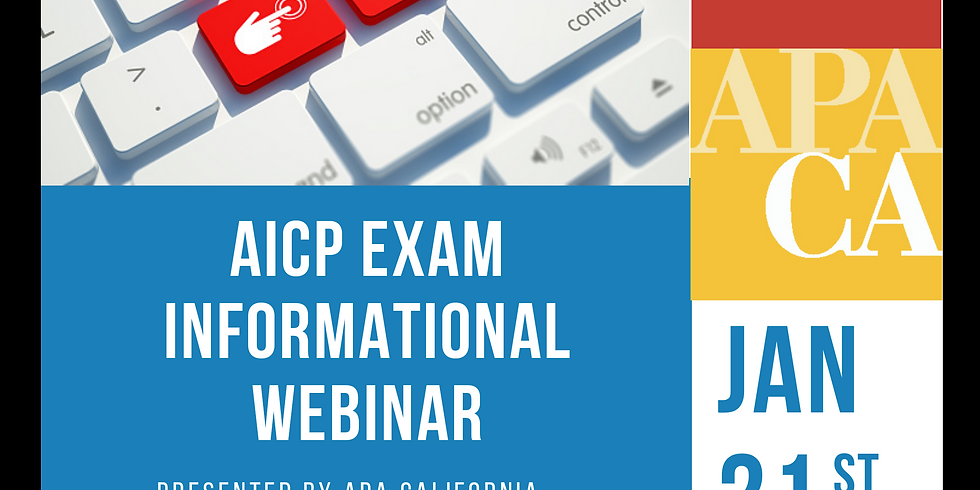 AICP Exam Informational Webinar