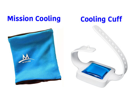 Mission Cooling Wristbands vs. Cooling Cuff