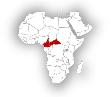 Central African Republic in the face of violence following December 27 general election.