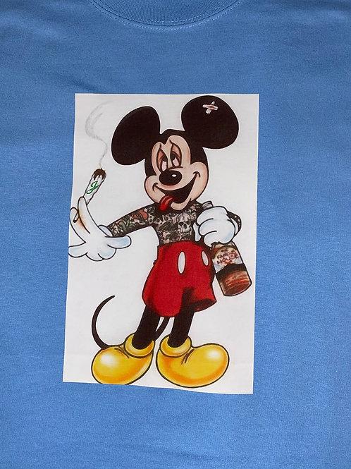 Mickey Inked Jingles T Shirt