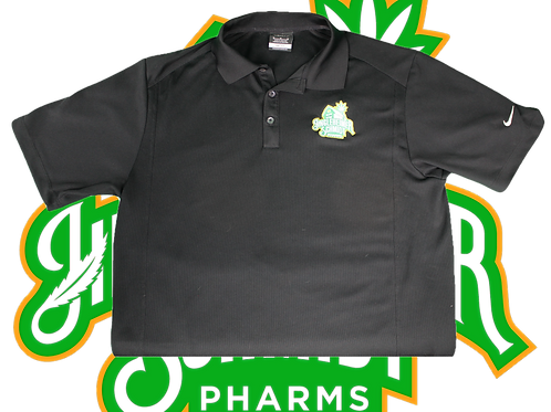 Nike JHS Logo Embroidered Dri-Fit Golf Polo