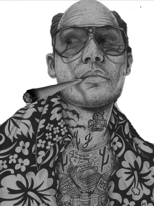 Fear and Loathing Inked Jingles T Shirt