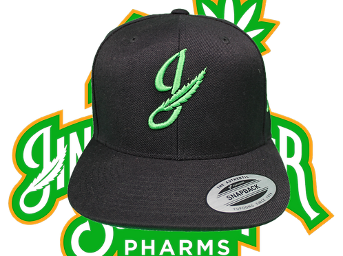 Jingles Embroidered Snapback Hat
