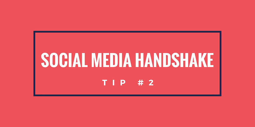 Day two of #12daysofsocial is a tip from @JoeSocialMedia: It's still a real world. Your social media connections have to result in a meeting, handshak(e) or point of real contact.