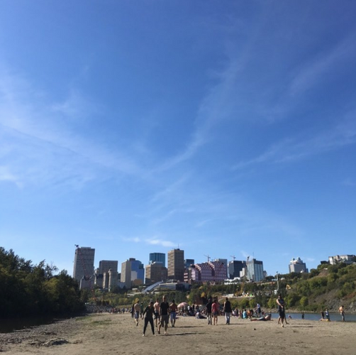 Accidental Beach Edmonton