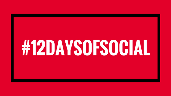 #12DAYSOFSOCIAL